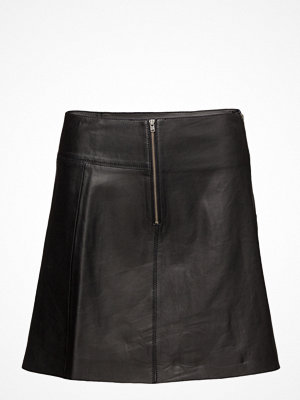 Selected Femme Sfbonnie Mw Leather Skirt