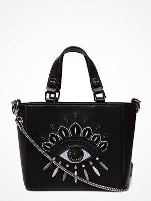 Kenzo svart axelväska med tryck Handbag Main
