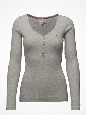 Tommy Jeans Tjw Rib Henley, 000,