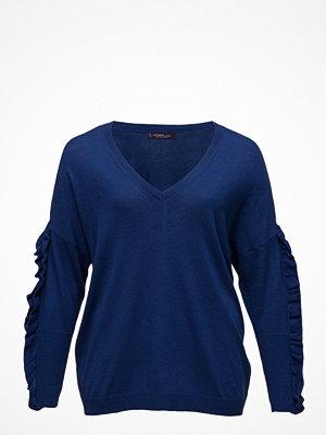 Violeta by Mango Ruffled Sleeve Sweater
