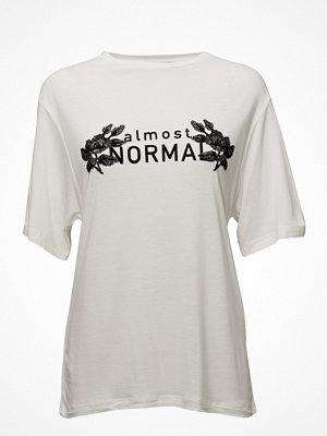 Mango Sequined Message T-Shirt