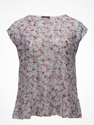 Violeta by Mango Floral Lace T-Shirt
