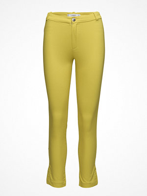 Mango gula byxor Slim-Fit Stretch Trousers