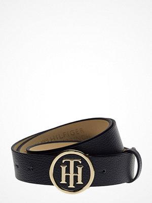 Bälten & skärp - Tommy Hilfiger Th Round Buckle Belt