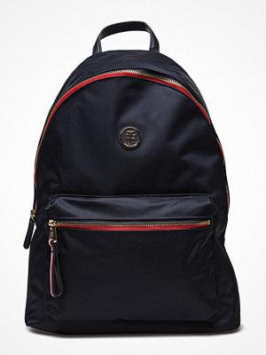 Tommy Hilfiger svart ryggsäck Poppy Backpack, 413,