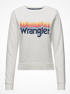 Wrangler Kabel Sweat Offwhite