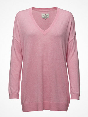 Lexington Clothing Ana Cotton Bamboo V-Neck Sweater