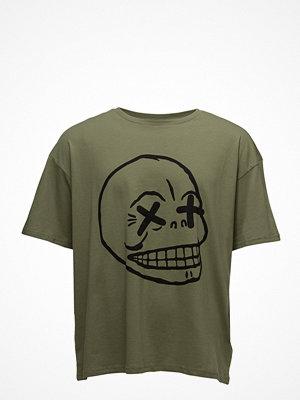 Cheap Monday Squad Tee Faint Skull