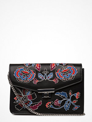 Mango axelväska med tryck Floral Embroidery Bag