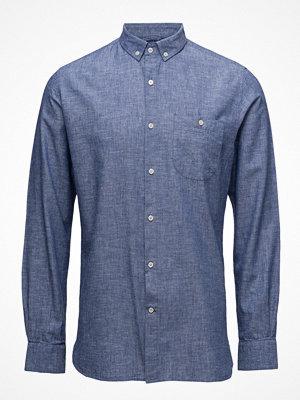 Knowledge Cotton Apparel Cotton/Linen Shirt- Gots