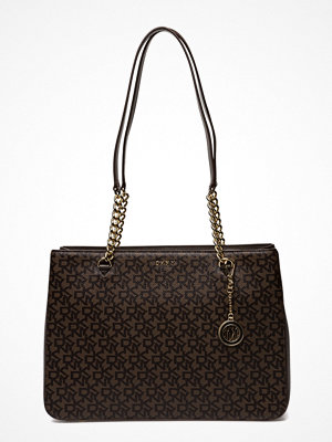 DKNY Bags mönstrad axelväska Bryant Lg Shppr Tote