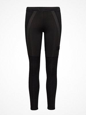 Sportkläder - Newline Black Warm Wiper Tights