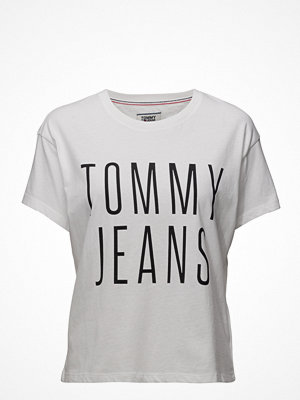 Tommy Jeans Tjw Cropped Logo Tee