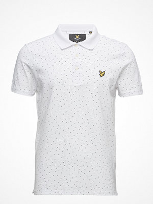 Lyle & Scott Mini Square Dot Polo Shirt