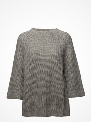 Rabens Saloner Triangle Knit Funnelneck Sweat