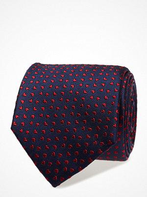 Slipsar - ATLAS DESIGN Tie Valentine Red Hearts