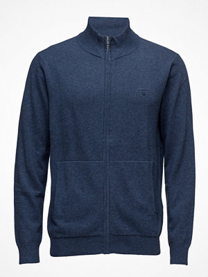 Gant Lt. Weight Cotton Zip Cardigan