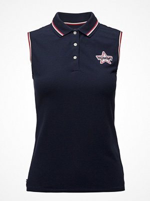 Pikétröjor - Tommy Jeans Tjw Badge Sleeveless