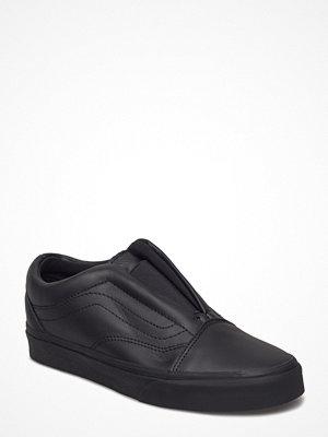 Vans Ua Old Skool Laceles (Leather) Bl