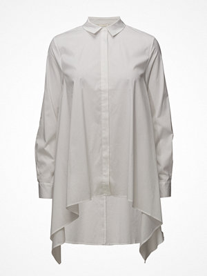 Selected Femme Sfmili Scarf Hem Ls Shirt Dress