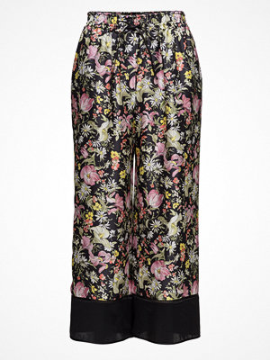 3.1 Phillip Lim mönstrade byxor Cropped Wide Leg Pant-Cdc