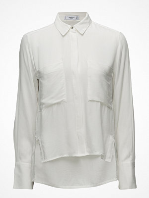 Mango Pockets Flowy Shirt