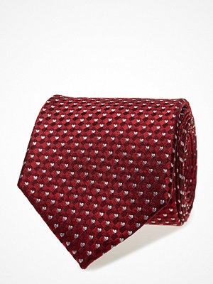 Slipsar - ATLAS DESIGN Tie Valentine Micro Hearts