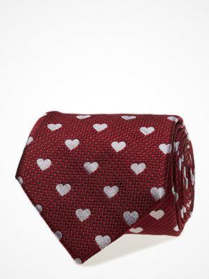 Slipsar - ATLAS DESIGN Tie Valentine Big Hearts