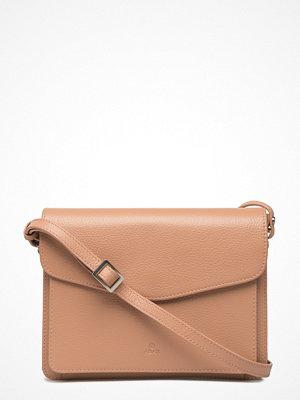 Adax beige axelväska Cormorano Shoulder Bag Lilja