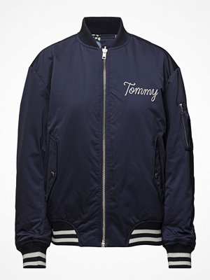 Tommy Jeans marinblå bomberjacka Tjw Reversible Bombe