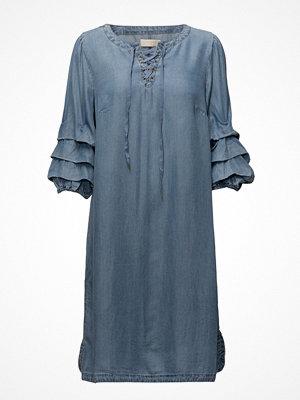 Cream Vivi Denim Dress