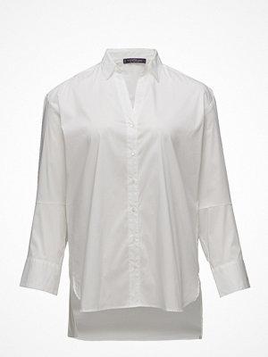 Violeta by Mango Asymmetrical Hem Shirt