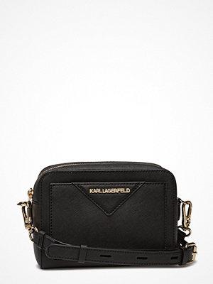 Karl Lagerfeld bags svart axelväska K/Klassik Camera Bag