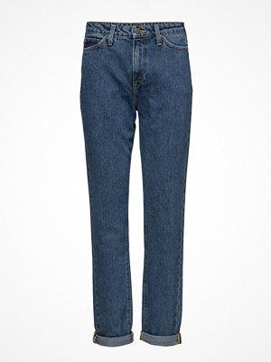 Lee Jeans Mom Straight Stonewash