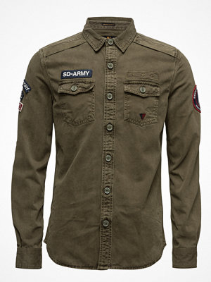 Skjortor - Superdry Sd Army Corps L/S Shirt