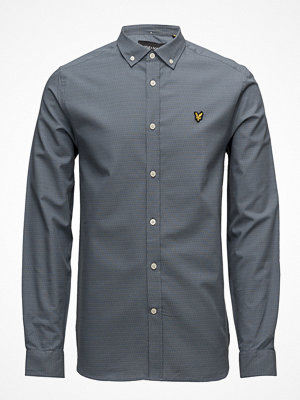 Skjortor - Lyle & Scott Multi-Coloured Running Stitch Shirt