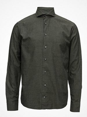 Skjortor - Eton Lightweight Flannel Slim