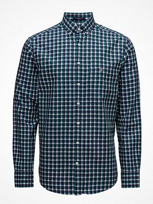 Gant O1. Mixed Weave Gingham Reg Bd