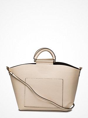 Mango Pocket Shopper Bag omönstrad