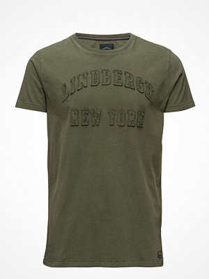 Lindbergh Washed Tee W. Application S/S