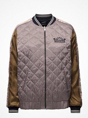 Scotch & Soda omönstrad bomberjacka Reversible Souvenir Jacket