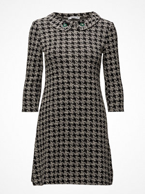Mango Jewel Houndstooth Dress