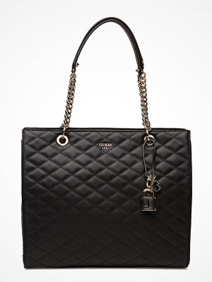 Guess Enelope Shopper svart