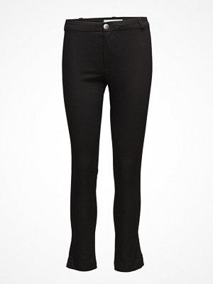 Mango svarta byxor Slim-Fit Stretch Trousers