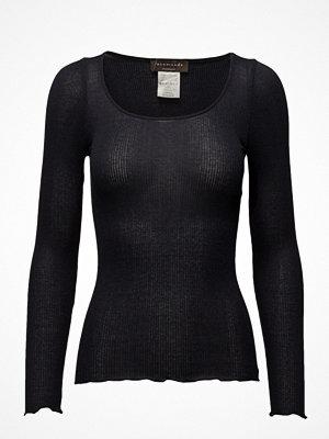Rosemunde Silk T-Shirt Regular Ls W/Lurex