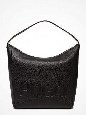 Hugo svart axelväska Mayfair Hobo