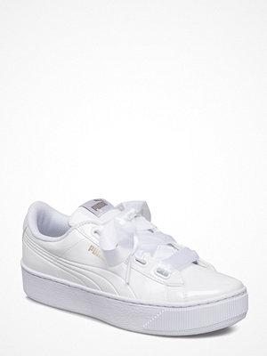 Sneakers & streetskor - Puma Puma Vikky Platform Ribbon P