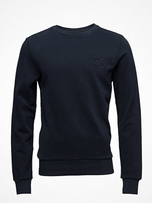 Calvin Klein Kapler_2 Solid French Terry Chest Logo
