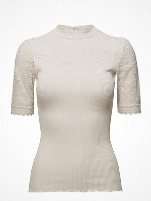 Rosemunde Silk T-Shirt Regular Ss W/Lace