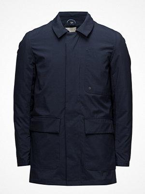 Parkasjackor - Knowledge Cotton Apparel Big Pocket Soft Shell Jacket W/Deta